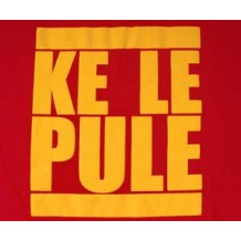 KE LE PULE (you're not the boss) RED | T-Shirts | Kiddies T's