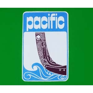 Pacific exercise book logo. EMG