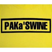 PAK'a SWINE (bugger swine island style) | T-Shirts | Kiddies T's