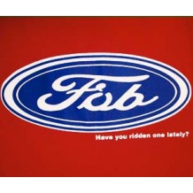 Fob: have you ridden one lately? RED | T-Shirts | Womens T's