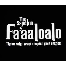 Fa'aaloalo 'the Sapelus' those who want respect give respect. BLK | T-Shirts | Unisex T's