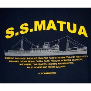 S.S. Matua. NAV